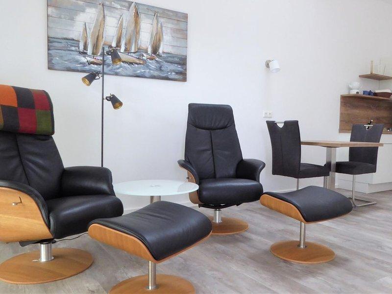 Die Wohnung Friesland 5 bietet Ihnen eine erholsame Auszeit zu zweit!, holiday rental in Zetel