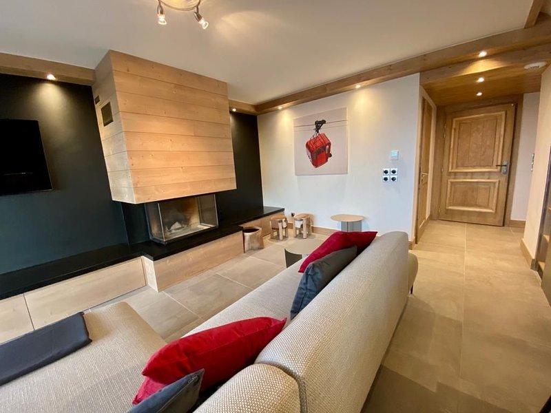 NOUVEAU DUPLEX 110m2 de 8 PERS -VALLANDRY - LES ARCS, holiday rental in Vallandry