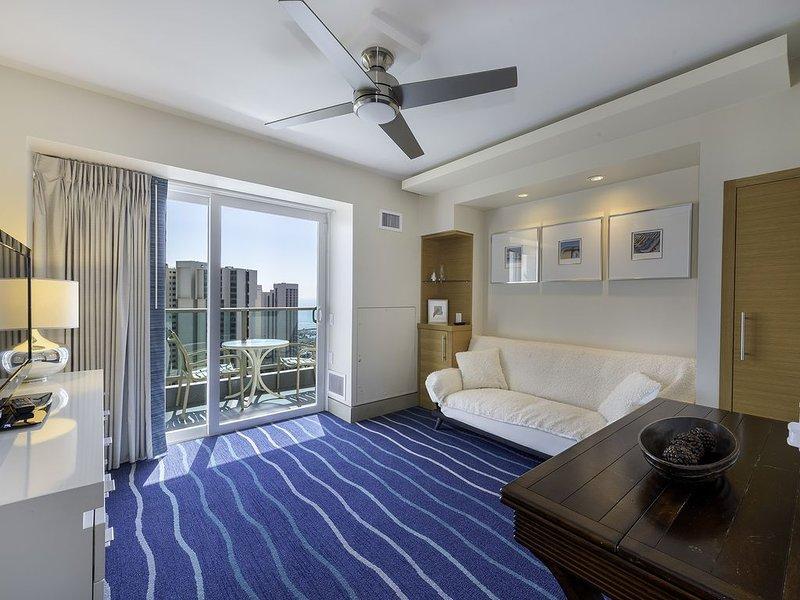 Penthouse B - 2br on 33 Floor, Spectacular Ocean Views! Book Now at Best Rate, alquiler de vacaciones en Aiea