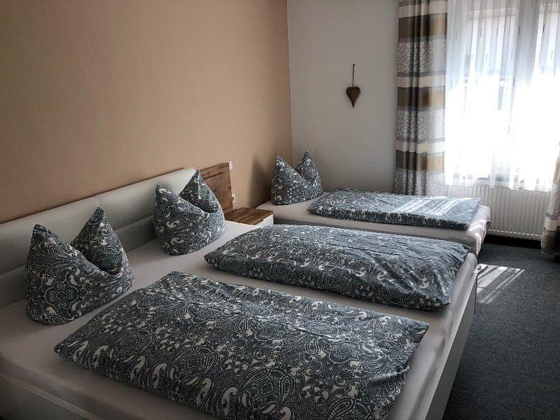 Ferienwohnung für 3 Personen  44qm-Schlafz.mit 3.Bett