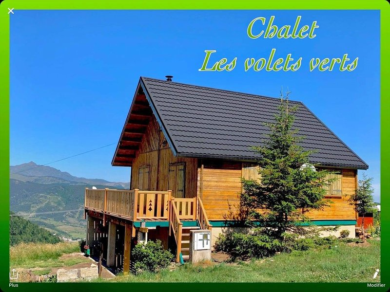 Chalet «les volets verts», vacation rental in Montaillou
