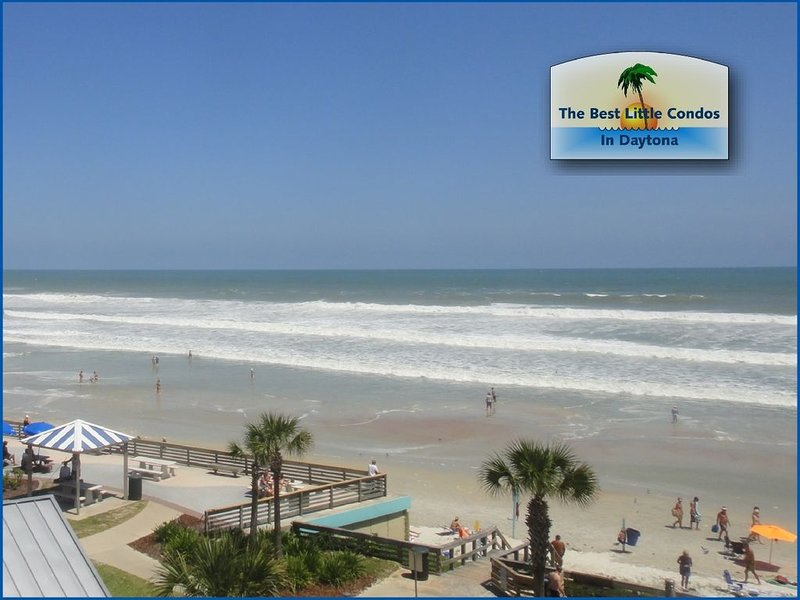 PANORAMIC OCEAN VIEW - LAST MINUTE DISCOUNTS, holiday rental in Daytona Beach