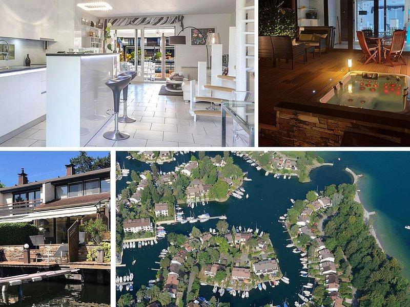 Maison les pieds dans l'eau, vacation rental in Thonon-les-Bains