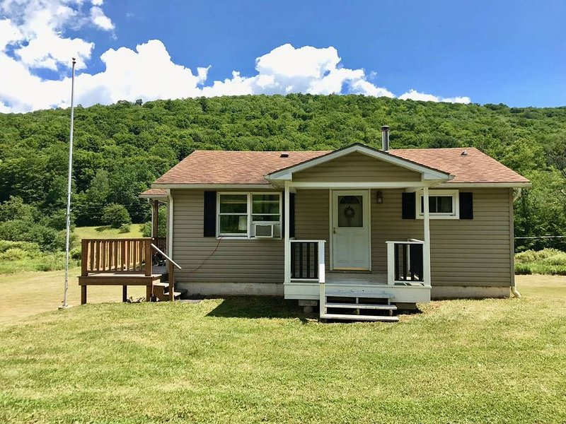 Cabin 20 miles from Cherry Springs, holiday rental in Wellsville