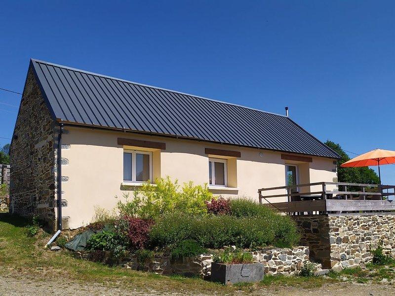 Maison à la campagne avec belle vue dégagée, holiday rental in Daoulas