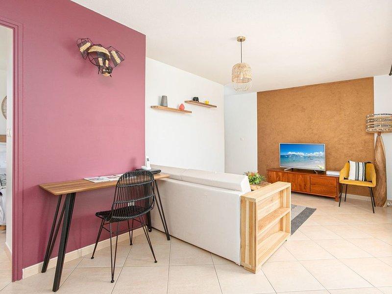 Mellow Yellow - Appartement Martinique Centre ☆, Ferienwohnung in Ducos