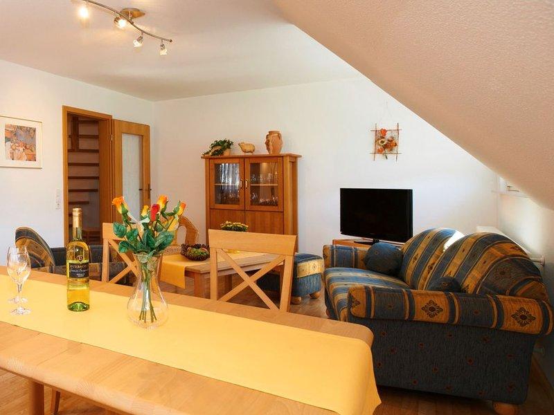 Ferienwohnung 'Bergblick', 76 qm, 2 Schlafzimmer, max. 4 Personen, location de vacances à Schweighausen