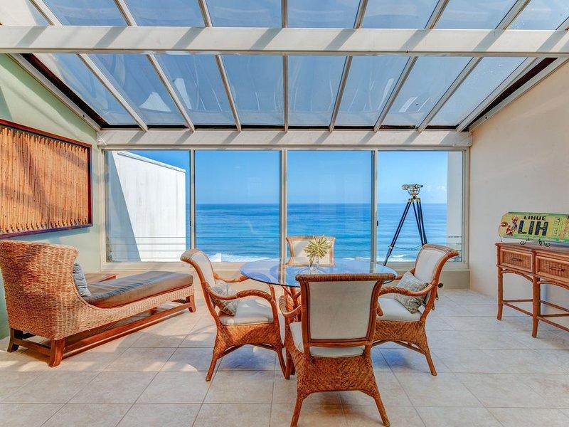 Oceanfront Penthouse, alquiler vacacional en Haena