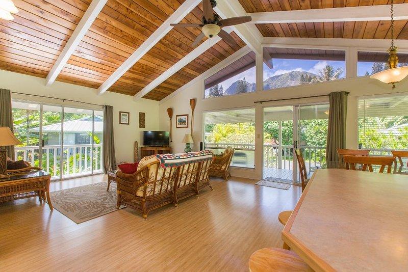 Quiet Haena Vacation Rental Home, alquiler de vacaciones en Haena