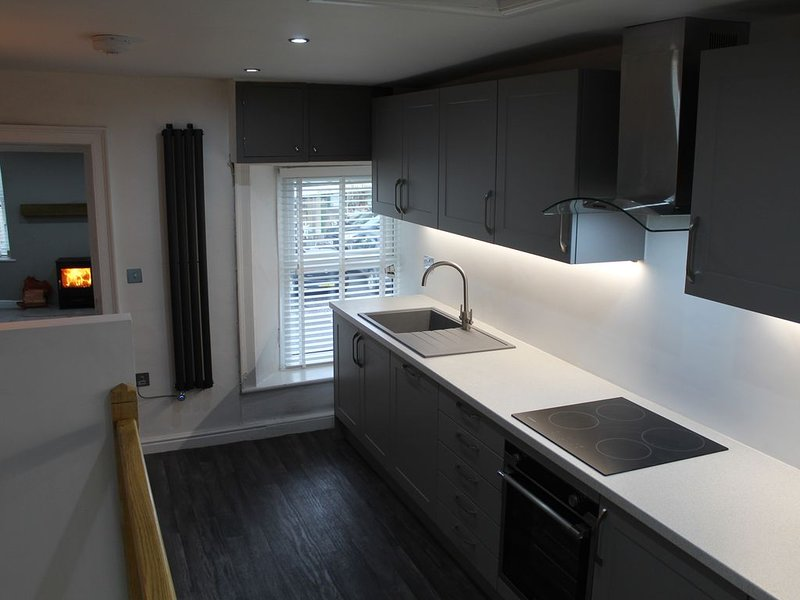 NEW FOR 2020 Centre of Hawes. Luxury apartment from a former solicitors office., holiday rental in Yorkshire Dales National Park