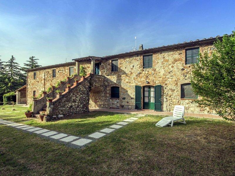 Schöne, typisch toskanische Unterkünfte in einem hübschen Bauernhaus, D1, holiday rental in Malandrone