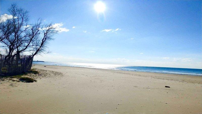 appartement T2 (47 m2) vue mer, à 2 pas de la plage, alquiler vacacional en Palavas-les-Flots