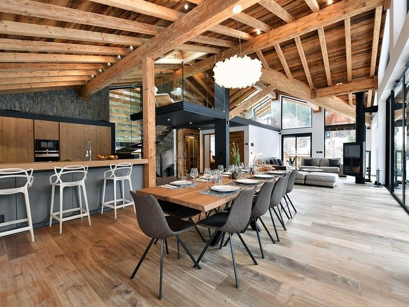 Chalet Black Squirrel - Piscine, spa  et  sauna, holiday rental in Les Praz-de-Chamonix
