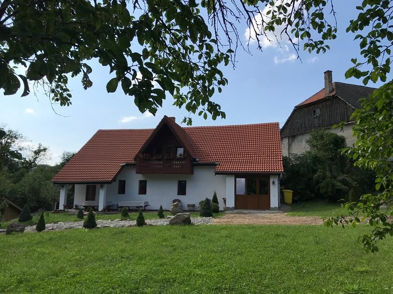 Small Farmhouse, newly renovated, located in an authentic Romanian village, holiday rental in Vale
