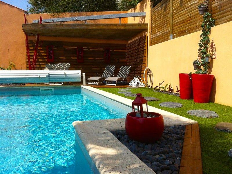 Villa classified 4 * with swimming pool La Rochelle Beach, vacation rental in La Rochelle