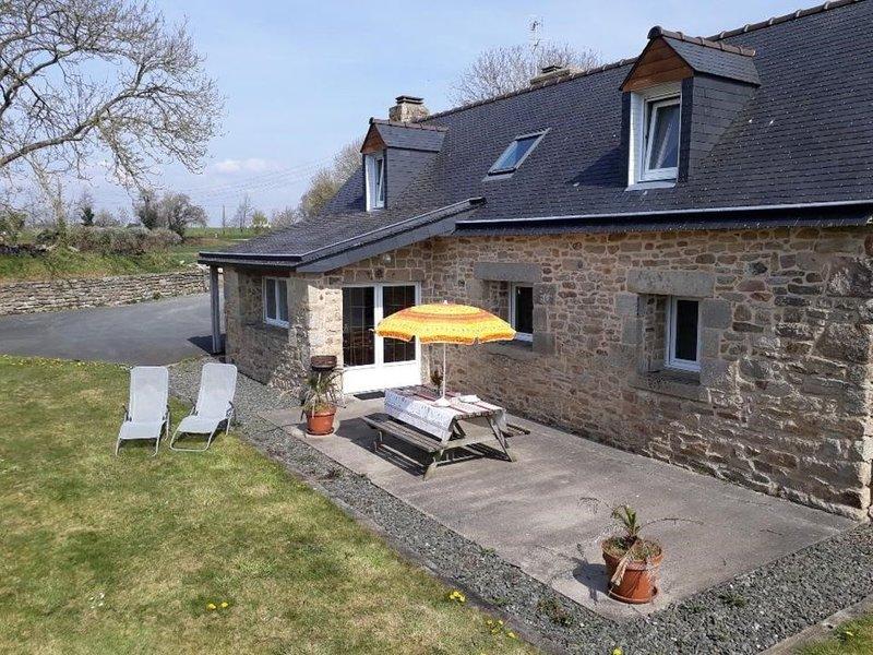 Maison de charme sur Plozévet, location de vacances à Landudec