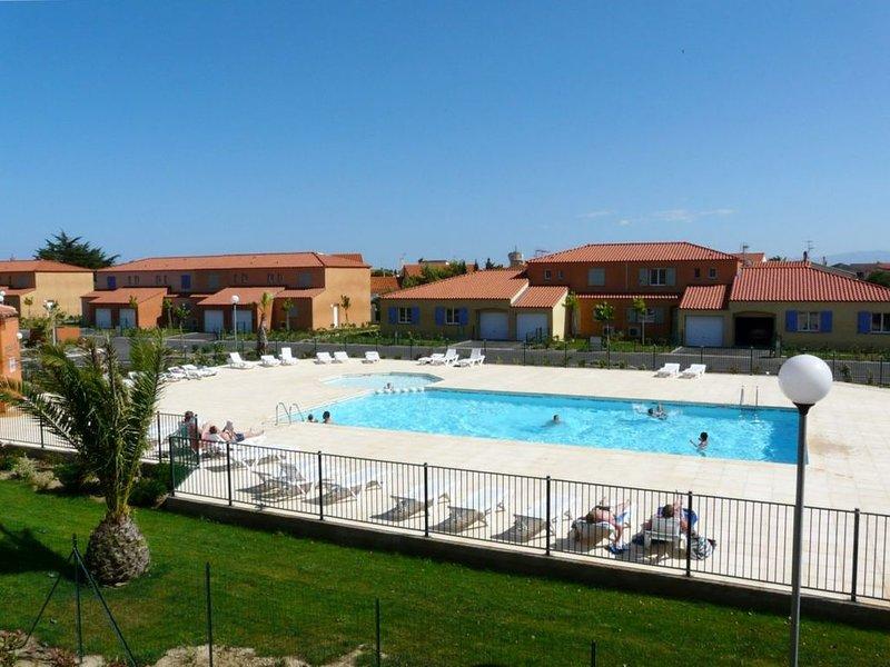 Villa classée 4* dans résidence avec piscine à 7 minutes de la plage à pied, casa vacanza a Le Barcares