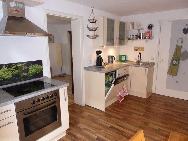 Garten-Einliegewohnung in Jugendstilvilla, holiday rental in Kirchberg an der Jagst