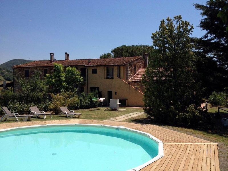 Schöne, typisch toskanische Unterkünfte in einem hübschen Bauernhaus, l'Aia, holiday rental in Malandrone