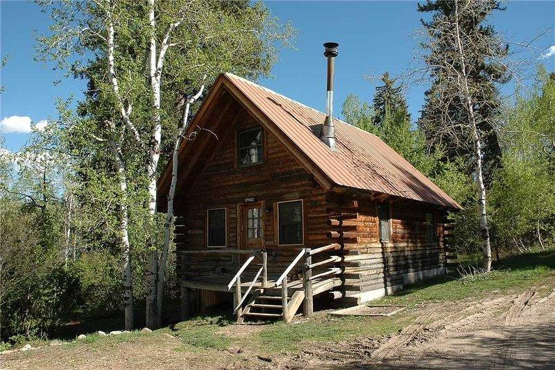 CABSP by Pioneer Ridge: Rustic Colorado Cabin! Enjoy a quiet setting by Buff Pas, holiday rental in Clark