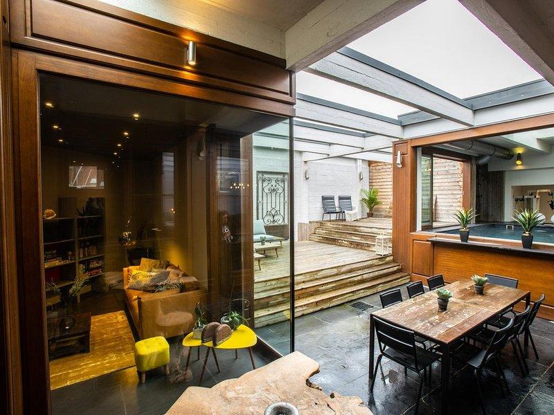 SwimCasaLille - Loft cosy avec piscine intérieure, location de vacances à Lille