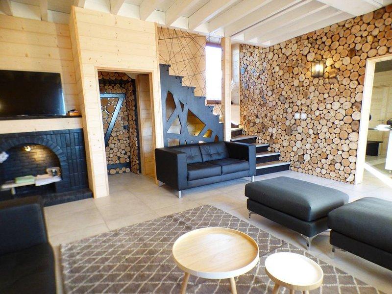 Chalet individuel 170m² - 15 couchages, location de vacances à Hauteluce