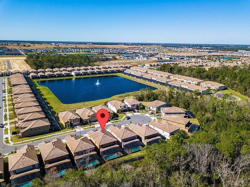 Resort 9BR Villa/ Amenities/Pool&Spa/Near Disney, Sea World, Universal (8820), aluguéis de temporada em Four Corners