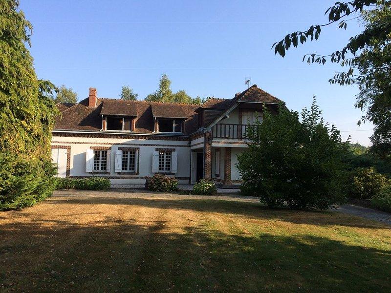 Loue grande maison de campagne, 8 personnes dans l'Eure, alquiler vacacional en Verneuil d'Avre et d'Iton
