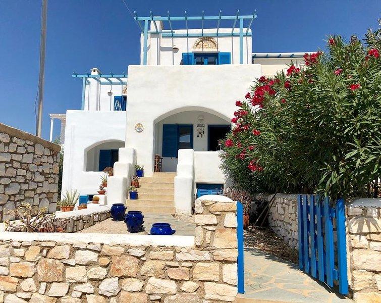 Villa Florida - Maison traditionnelle grecque 6/8 personnes ASPRO CHORIO - PAROS, location de vacances à Drios
