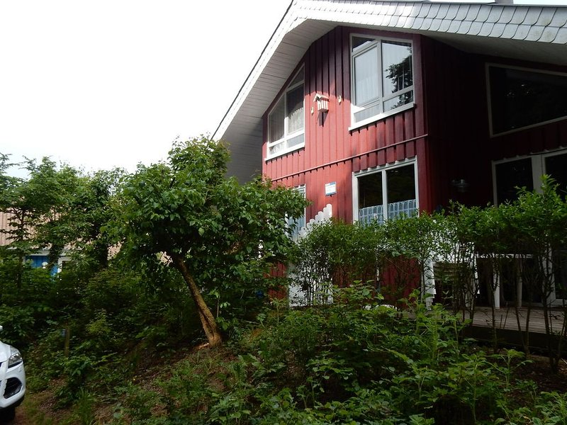 Cozy holiday home in Scandinavian style with sauna, holiday rental in Rinteln