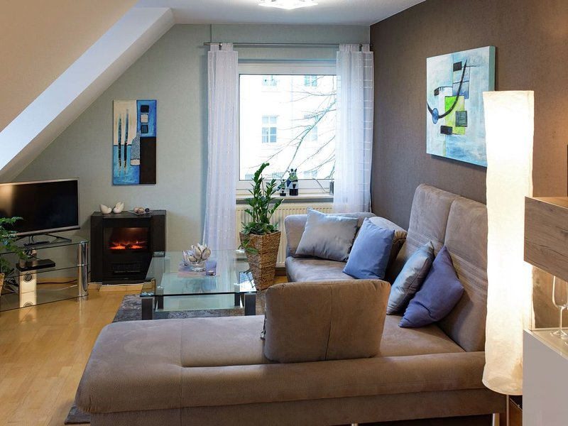 High-quality apartment, lovingly furnished with balcony and garage, vacation rental in Delliehausen