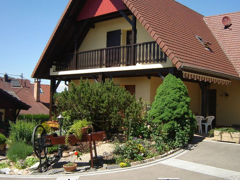 Quaint Holiday Home in Ruederbach with Table Tennis Table, Garden, holiday rental in Dannemarie