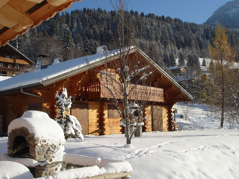 Cosy, charateristic chalet near the Petit Châtel lifts., holiday rental in Torgon
