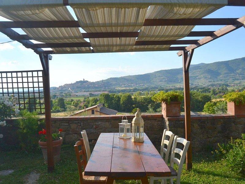 Beautiful holiday home in the hills of Castiglione Fiorentino., holiday rental in Castiglion Fiorentino
