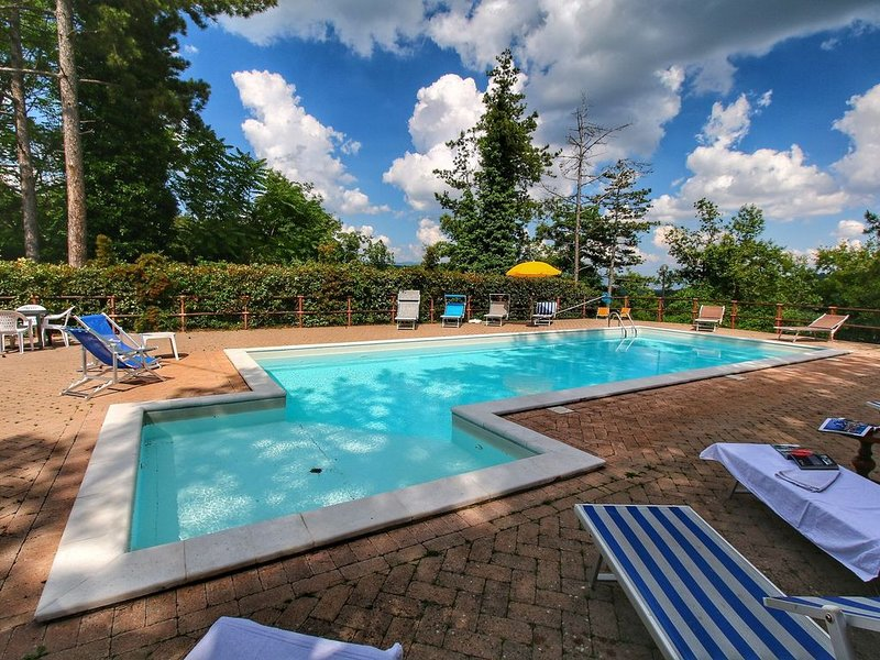 Boutique Villa in Scheggia with Pool, holiday rental in Anghiari