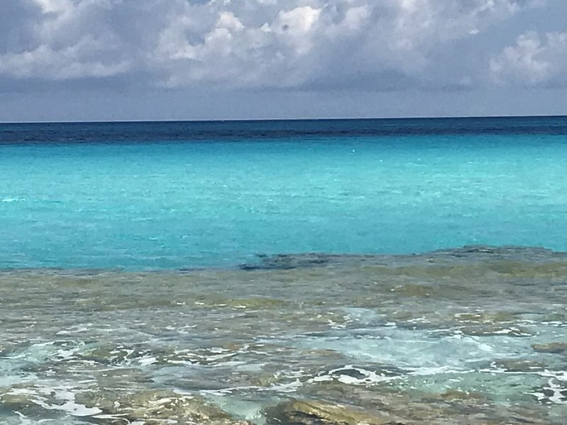 Steps to a private beach . . . Vacation in the Out Islands of the Bahamas, holiday rental in Rolleville