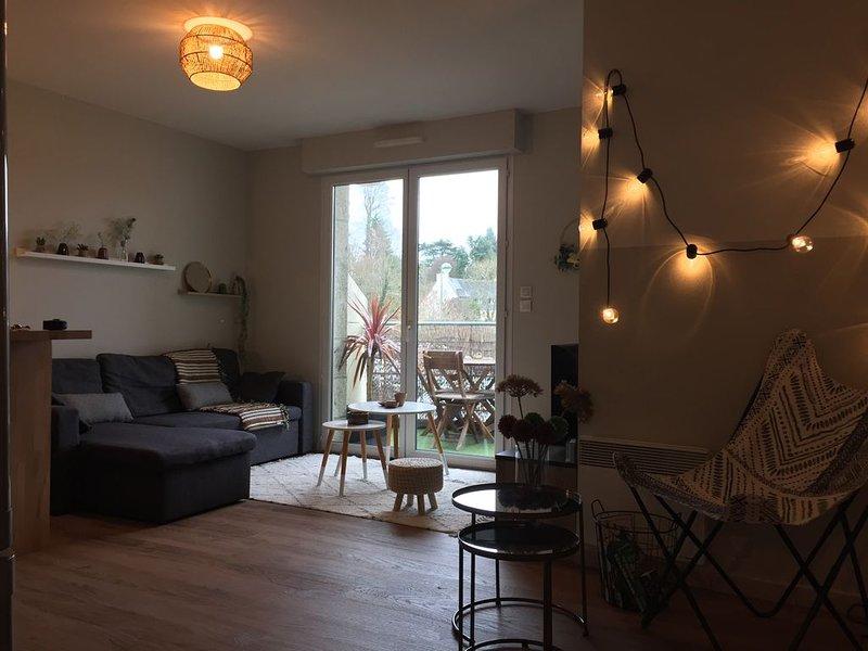 Bel appartement vue sur la baie, casa vacanza a La Foret-Fouesnant