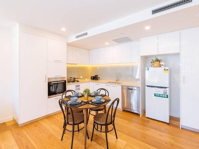 Large & Modern kitchen area