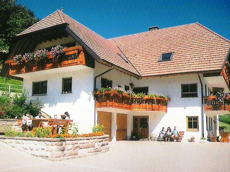 Snug Apartment in Simonswald with Sauna, location de vacances à Schweighausen