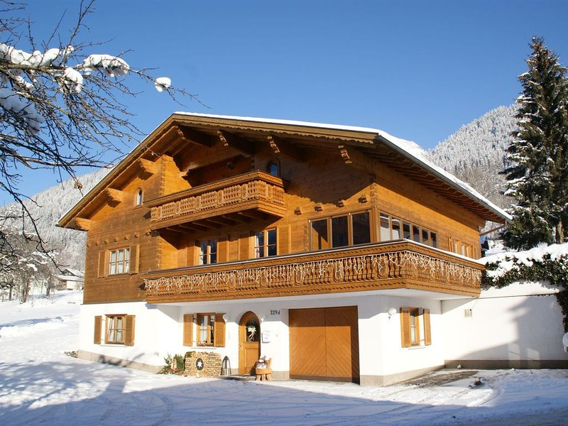 Modern Apartment in Sankt Gallenkirch with Terrace, holiday rental in Sankt Gallenkirch