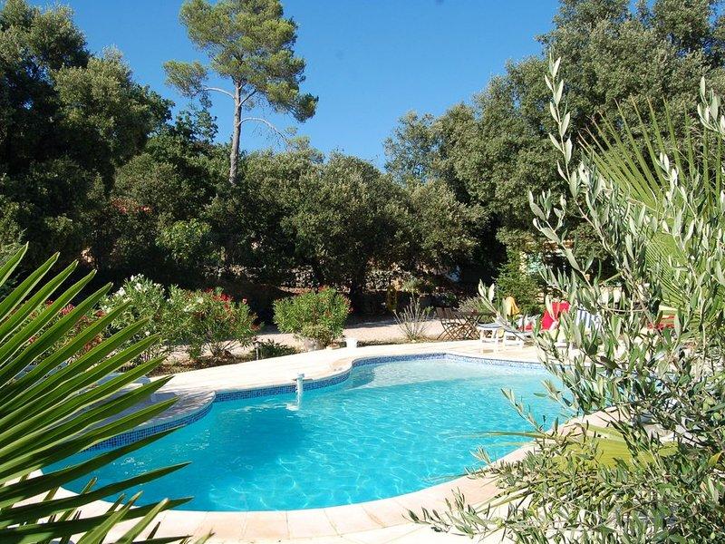 Modern Villa in Garéoult with Private Pool, alquiler vacacional en La Celle