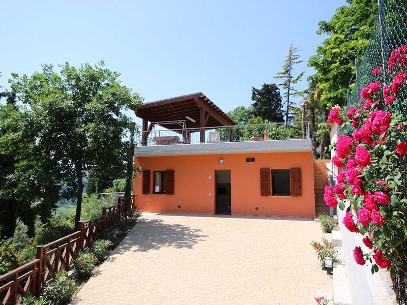 Beautiful Farmhouse in Montecarotto with Private Terrace, vacation rental in Angeli Stazione