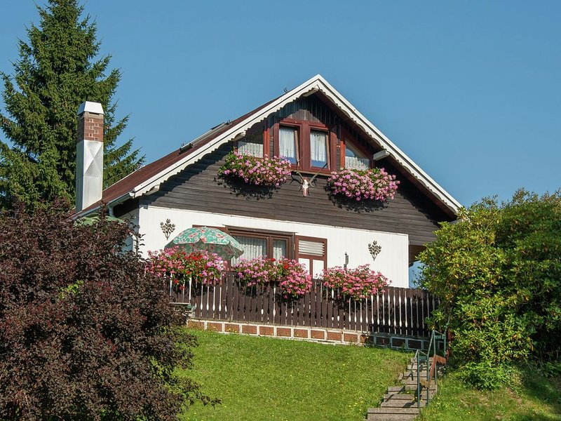 Serene Holiday Home in Altenfeld with Private Terrace, Ferienwohnung in Mellenbach-Glasbach