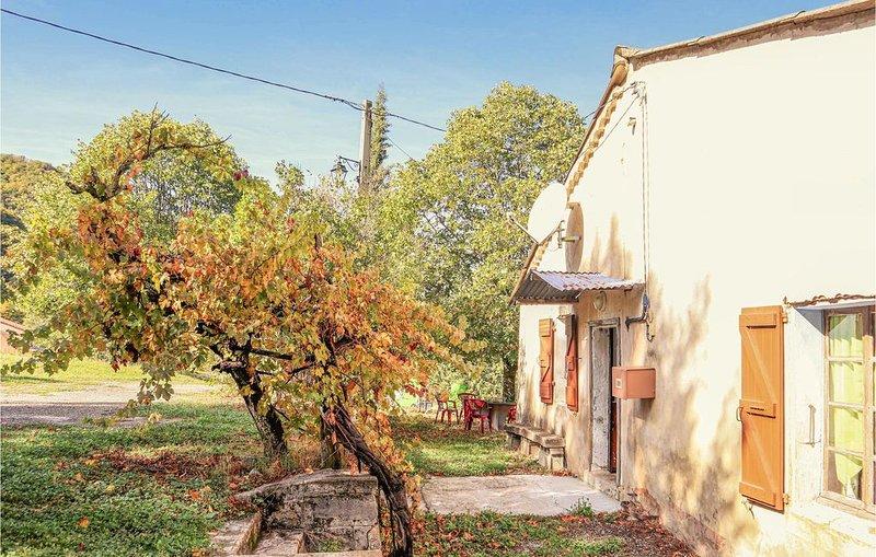 2 Zimmer Unterkunft in Chauvac-Laux-Montaux, vacation rental in Saint-Andre-de-Rosans