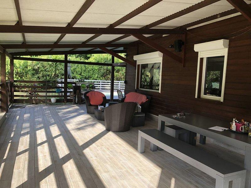 ~Villa la chaumière~, location de vacances à Arrondissement of Cayenne