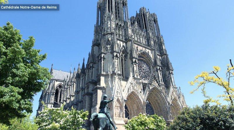 Appartement à 200 mètres de la cathédrale, location de vacances à Reims