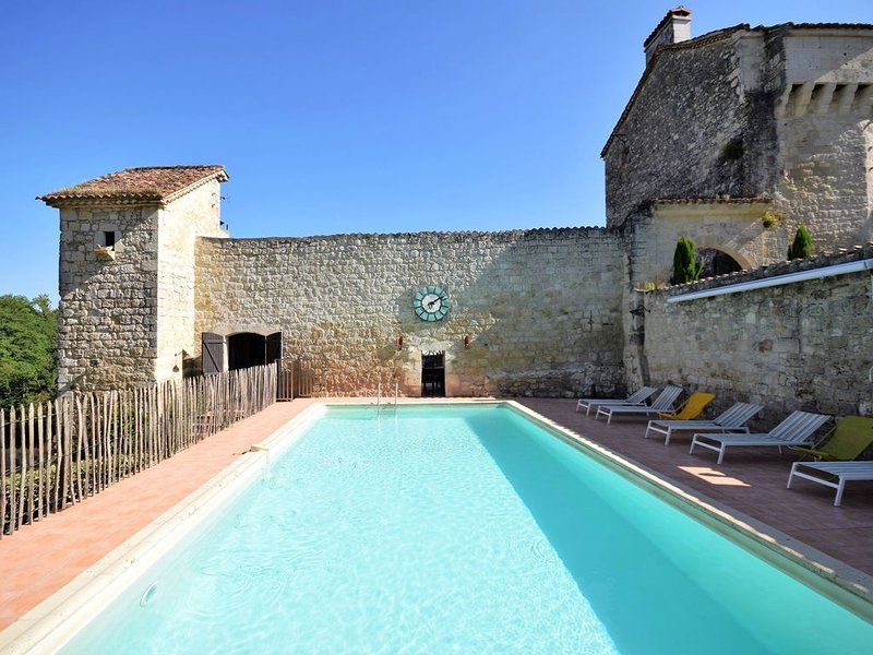 Chateau from the 12th century with modern comfort in a sublime setting., location de vacances à Layrac
