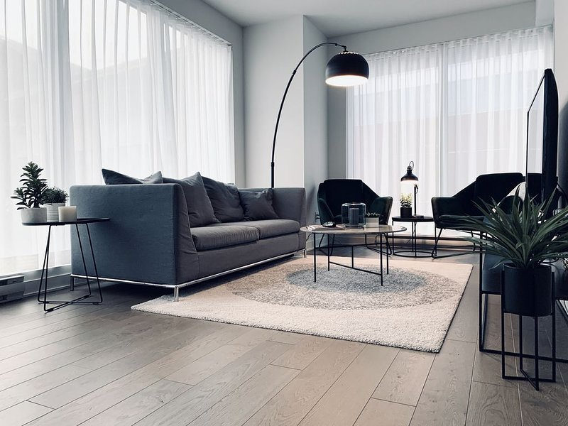 STYLISH & SPACIOUS 2BDR IN 5 STAR DOWNTOWN HIGH RISE COMPLEX, vacation rental in Montreal
