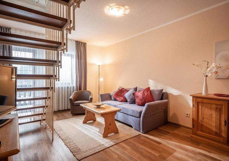 3***gemütliche 2 -Zimmer Massionettwohnung mit einem schönen Blick ins Inntal,Mi, alquiler de vacaciones en Oberaudorf