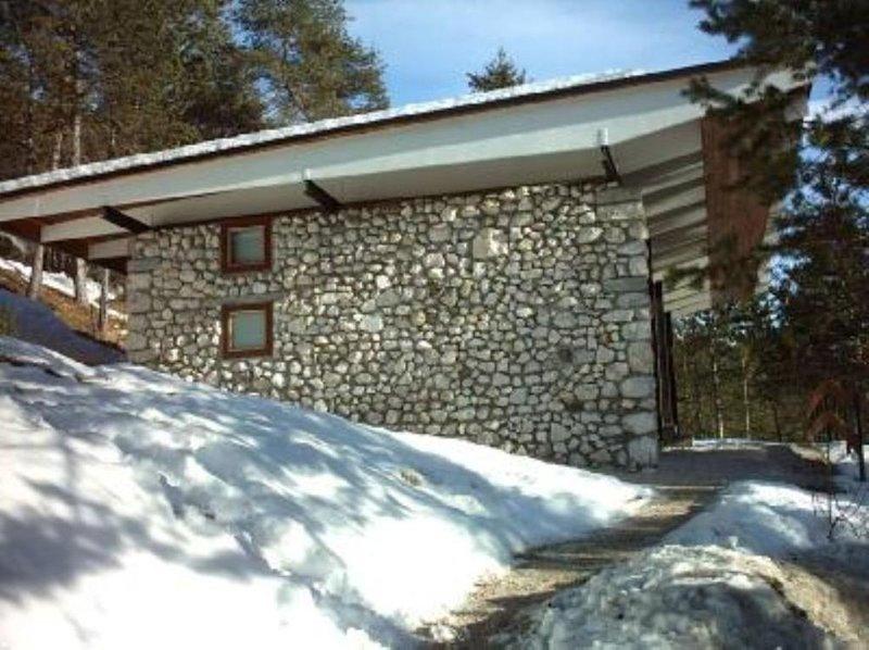 chalet nel bosco con vista sul monte Pelmo, holiday rental in Tai di Cadore